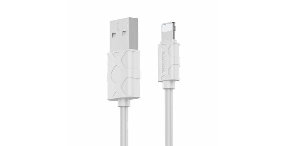Кабель Baseus Yaven Cable USB для iP (1m, белый)