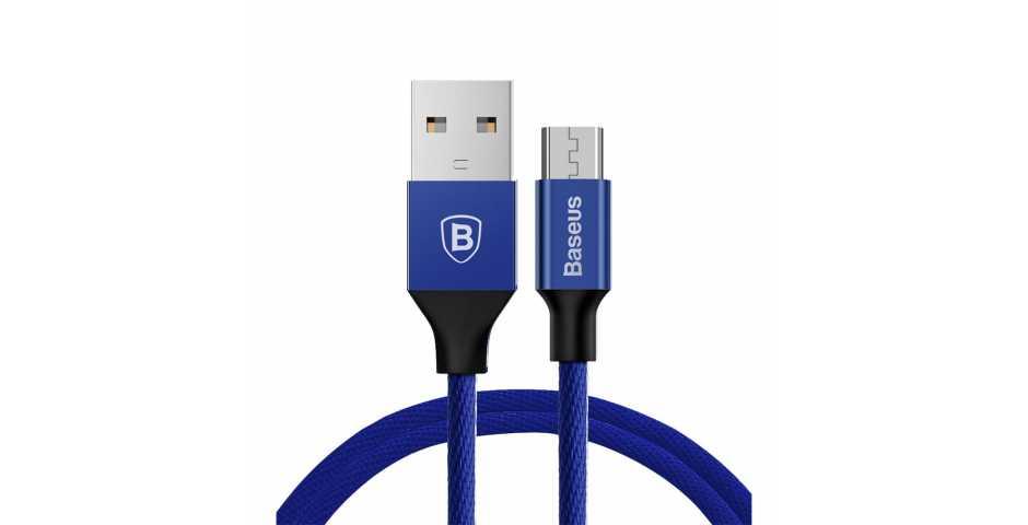 Кабель Baseus Yiven Cable USB для MicroUSB (синий)