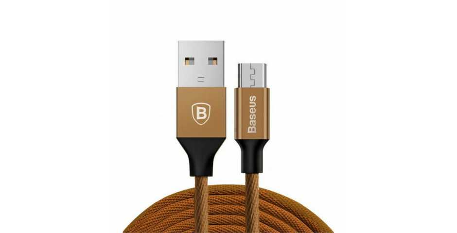 Кабель Baseus Yiven Cable USB для MicroUSB (кофейный)