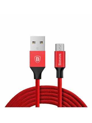 Кабель Baseus Yiven Cable USB для MicroUSB (1m, красный)