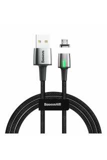 Кабель Baseus Zinc Magnetic Cable USB для MicroUSB (черный)
