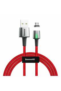 Кабель Baseus Zinc Magnetic Cable USB для MicroUSB (красный)
