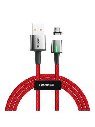 Кабель Baseus Zinc Magnetic Cable USB для MicroUSB (красный)