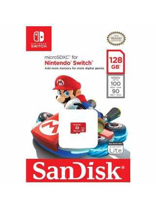 Карта памяти SanDisk microSDXC for Nintendo Switch [128GB]