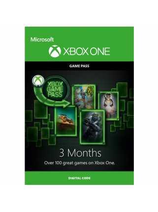 Карта оплаты Xbox Game Pass (3 месяца)