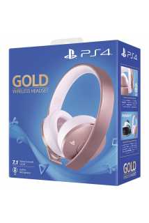 Гарнитура Gold Wireless Headset (Rose Gold)