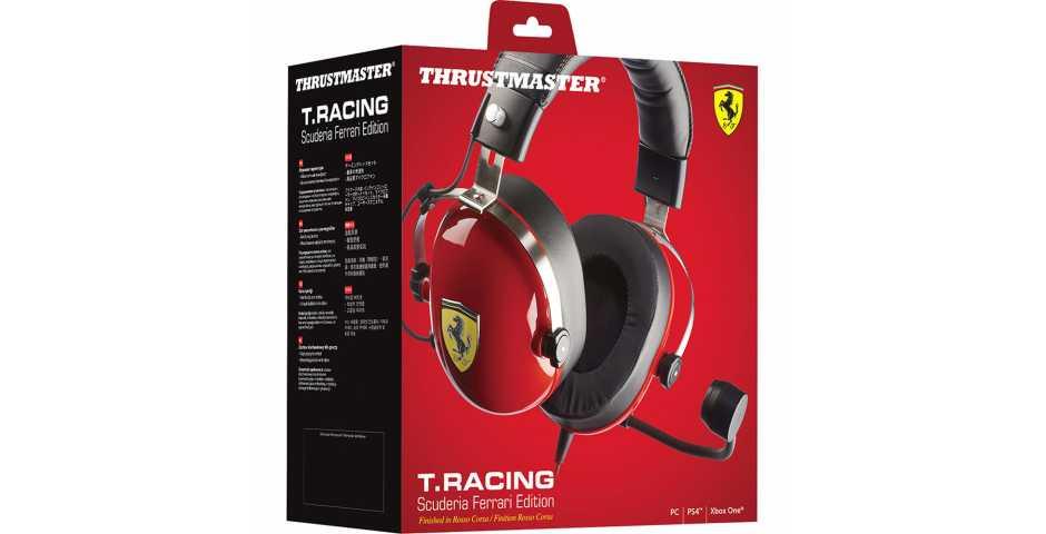 Гарнитура Thrustmaster T Racing Scuderia Ferrari Edition