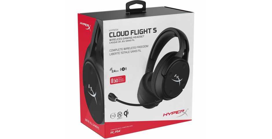 Гарнитура HyperX Cloud Flight S