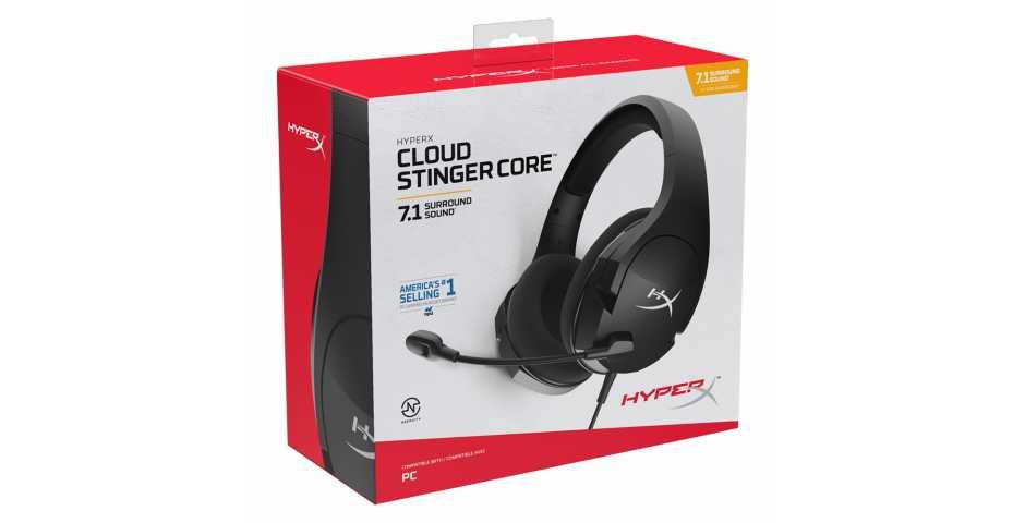 Гарнитура HyperX Cloud Stinger Core (7.1)