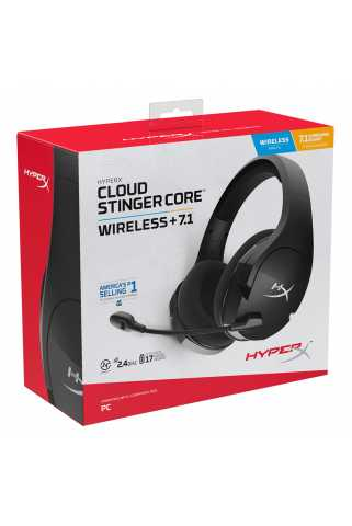 Гарнитура HyperX Cloud Stinger Core (Wireless + 7.1)