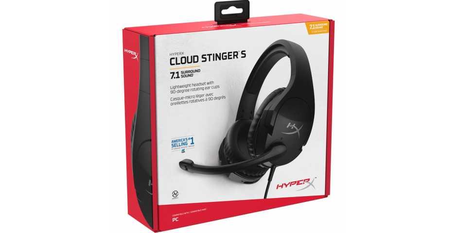 Гарнитура HyperX Cloud Stinger S