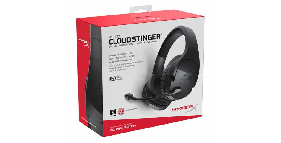 Гарнитура HyperX Cloud Stinger Wireless