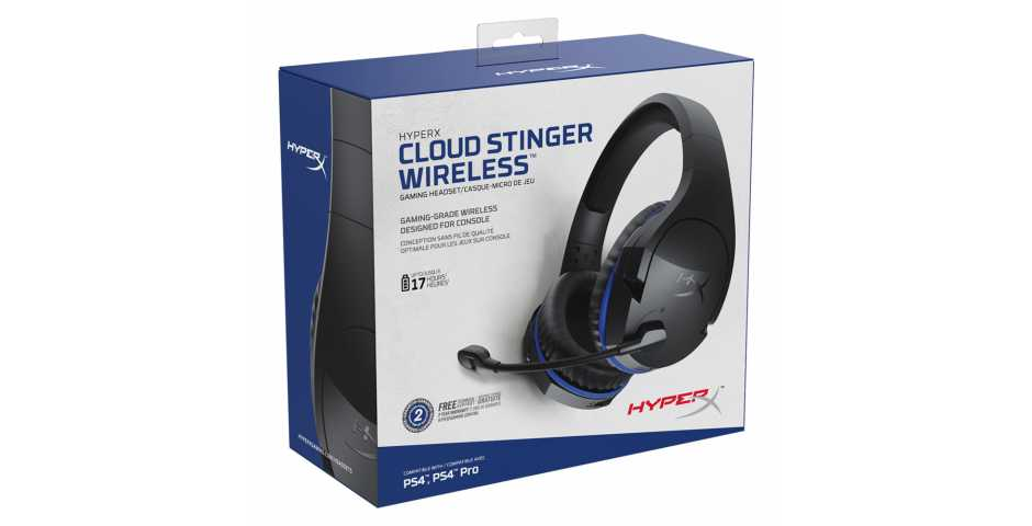 Гарнитура HyperX Cloud Stinger Wireless [PS4]