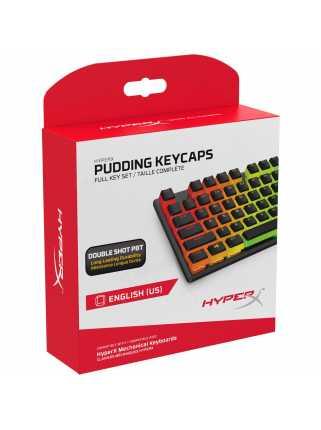 Кейкапы HyperX Pudding Keycaps (Black)