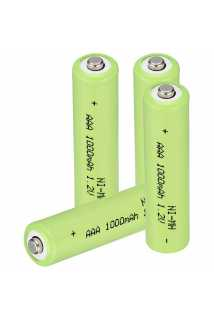 Аккумулятор для геймпадов (AAA, 1000 mAh, 4 шт)