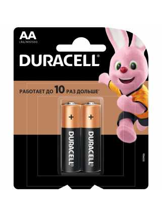 Батарейки Duracell (AA, 2 шт)