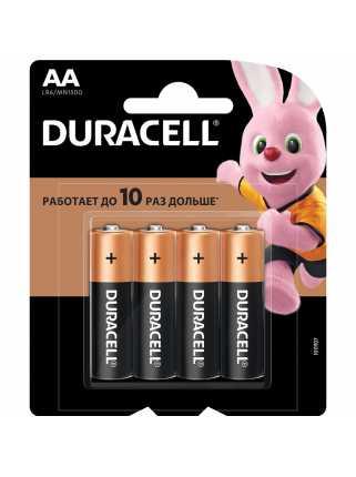 Батарейки Duracell (AA, 4 шт)