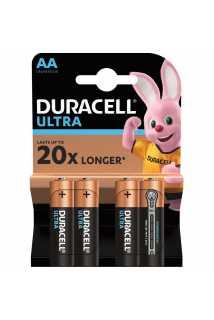 Батарейки Duracell Ultra (AA, 4 шт)