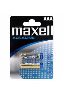 Батарейки Maxell Alkaline (AAA, 2 шт)