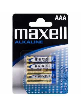 Батарейки Maxell Alkaline (AAA, 4 шт)