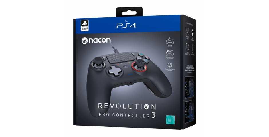 Геймпад NACON Revolution Pro Controller 3 [PS4]