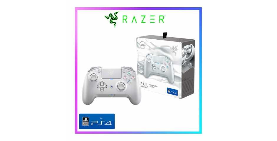 Геймпад Razer Raiju Tournament Edition (Mercury White) [PS4]