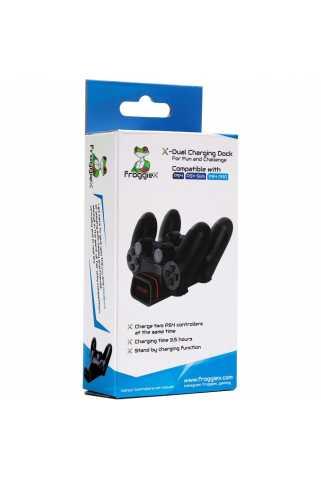Док-станция FroggieX Dual Charging Dock [PS4]