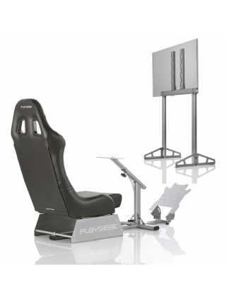 Playseat Evolution Black + Playseat TV Stand - PRO