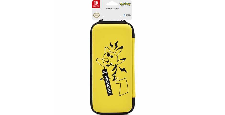 Защитный чехол HORI EmBoss Case (Pikachu)