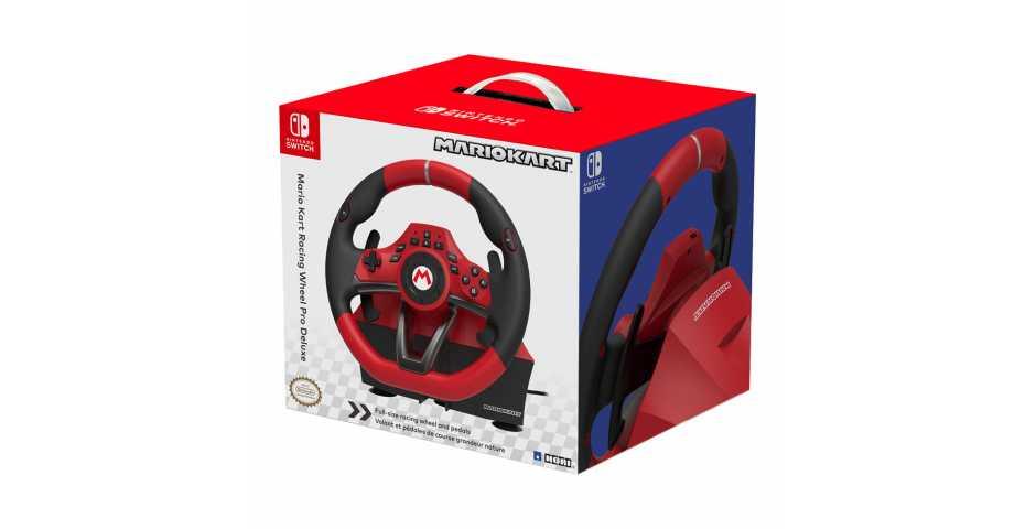 Руль HORI Mario Kart Racing Wheel Pro Deluxe