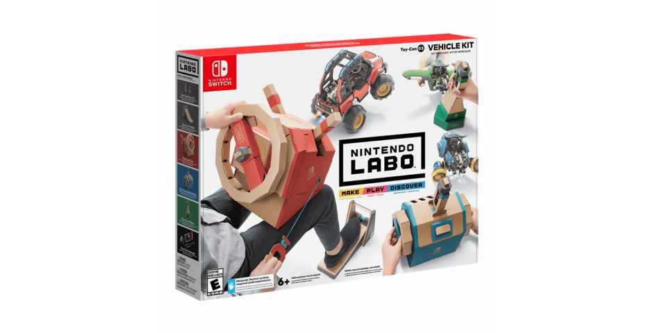Nintendo Labo: набор «Транспорт»