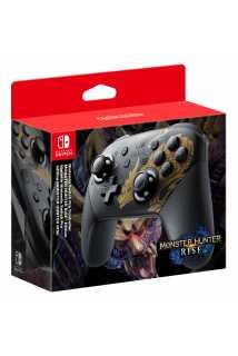 Контроллер Nintendo Switch Pro Controller - Monster Hunter Rise Edition