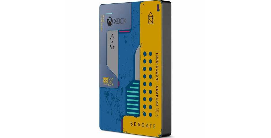 Жесткий диск Seagate Game Drive 2TB Cyberpunk 2077 [Xbox One]