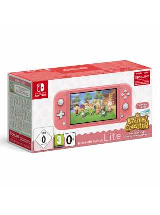 Nintendo Switch Lite + Animal Crossing: New Horizons + NSO
