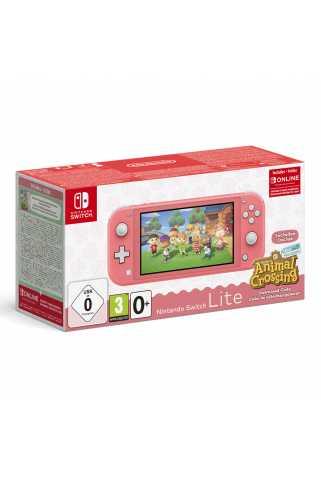 Nintendo Switch Lite + Animal Crossing: New Horizons + NSO