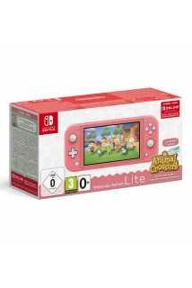 Nintendo Switch Lite (коралловый) + Animal Crossing: New Horizons