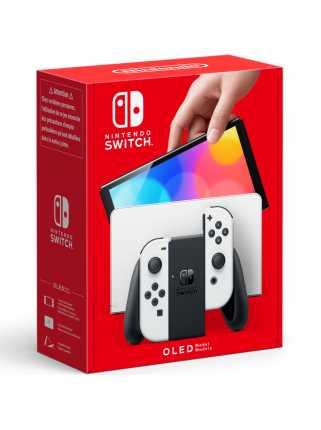 Nintendo Switch (OLED-модель) (белая)