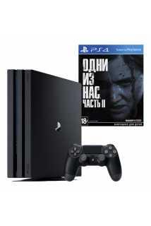 PlayStation 4 Pro 1TB + Одни из нас: Часть II