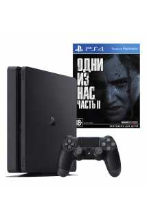 PlayStation 4 Slim 1TB + Одни из нас: Часть II
