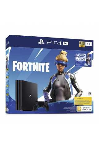 PlayStation 4 Pro 1TB + Fortnite Neo Versa