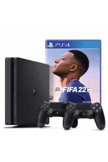 PlayStation 4 Slim 1TB + DUALSHOCK 4 + FIFA 22