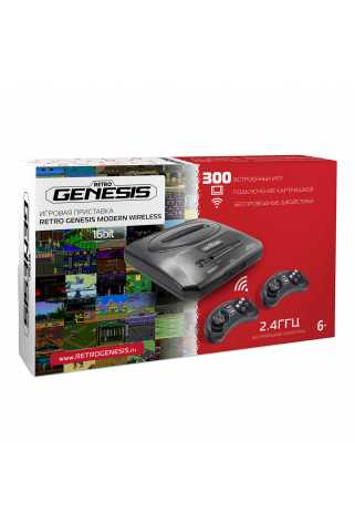 Retro Genesis Modern Wireless + 300 игр