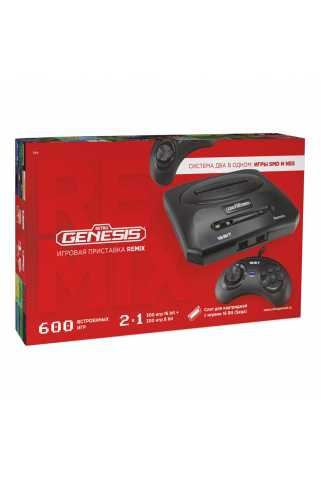 Retro Genesis Remix (8 bit + 16 bit) + 600 игр
