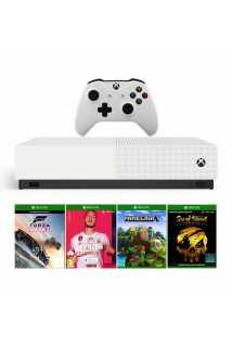 Xbox One S 1TB All-Digital Edition + Minecraft + Sea of Thieves + Forza Horizon 3 + FIFA 20