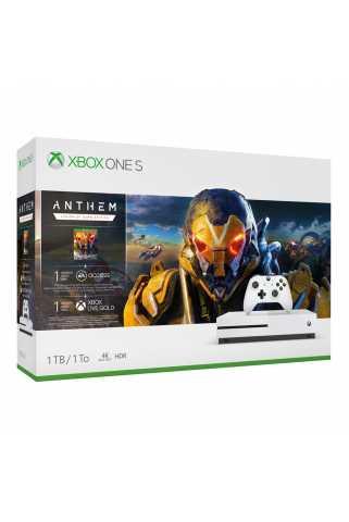 Xbox One S 1TB Anthem: Legion of Dawn Edition