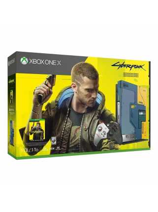 Xbox One X 1TB Cyberpunk 2077 Limited Edition