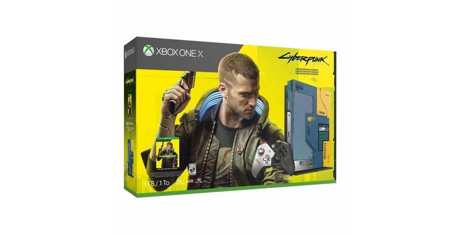 Microsoft Xbox One X 1TB Cyberpunk 2077 Limited Edition (Уценка)