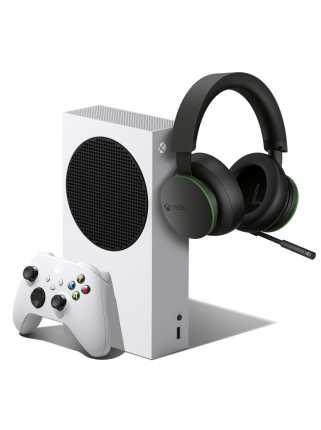 Xbox Series S + Xbox Wireless Headset