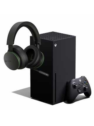 Xbox Series X + Xbox Wireless Headset