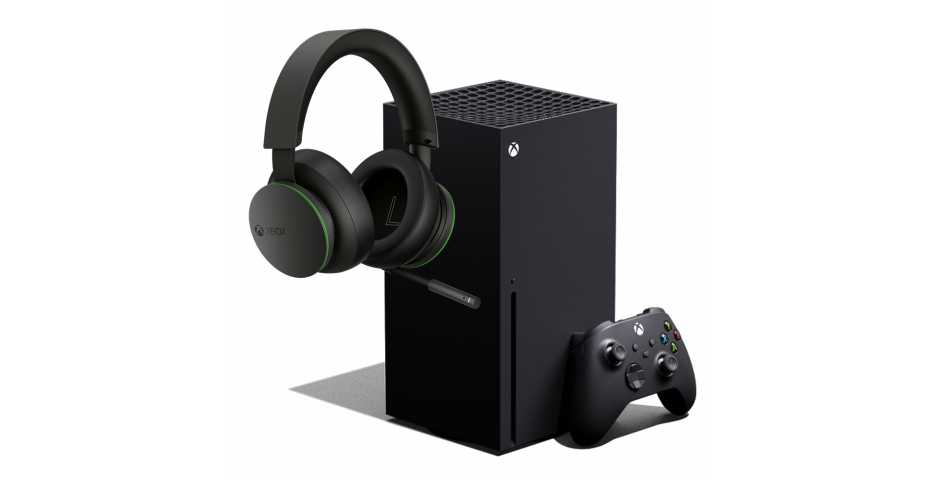Microsoft Xbox Series X + Xbox Wireless Headset